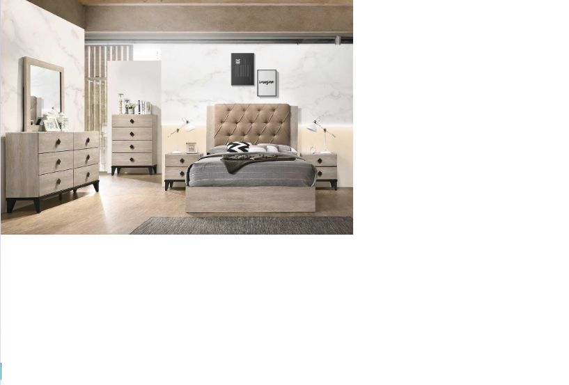Brand new Modernized Bedroom set only $998