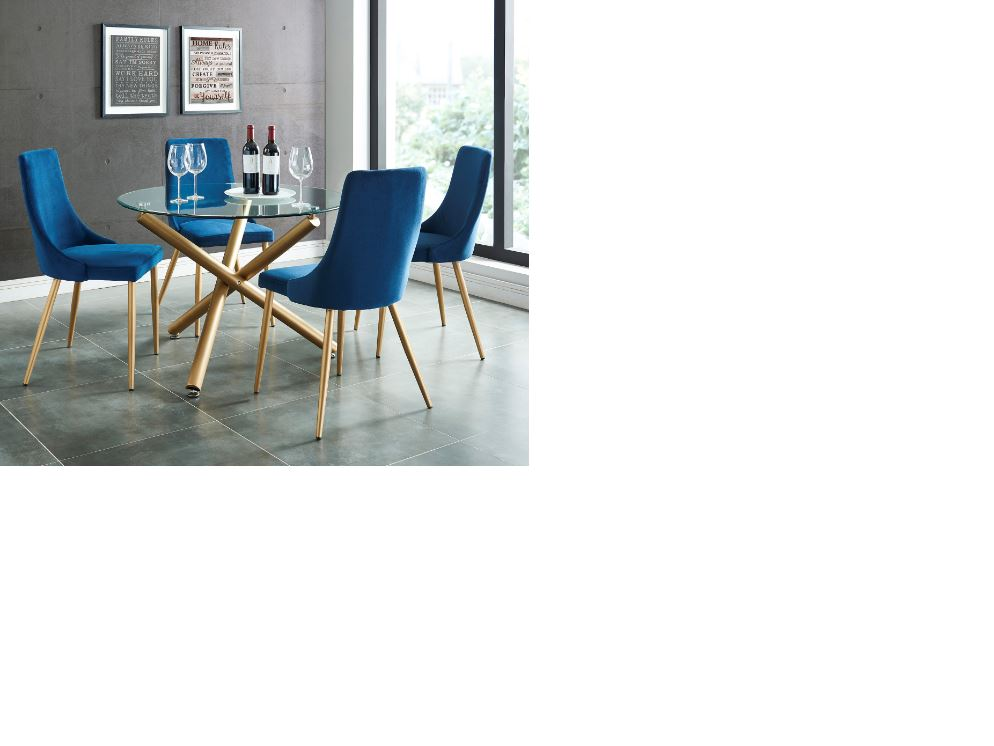Modern Glass Dinette Set on Special