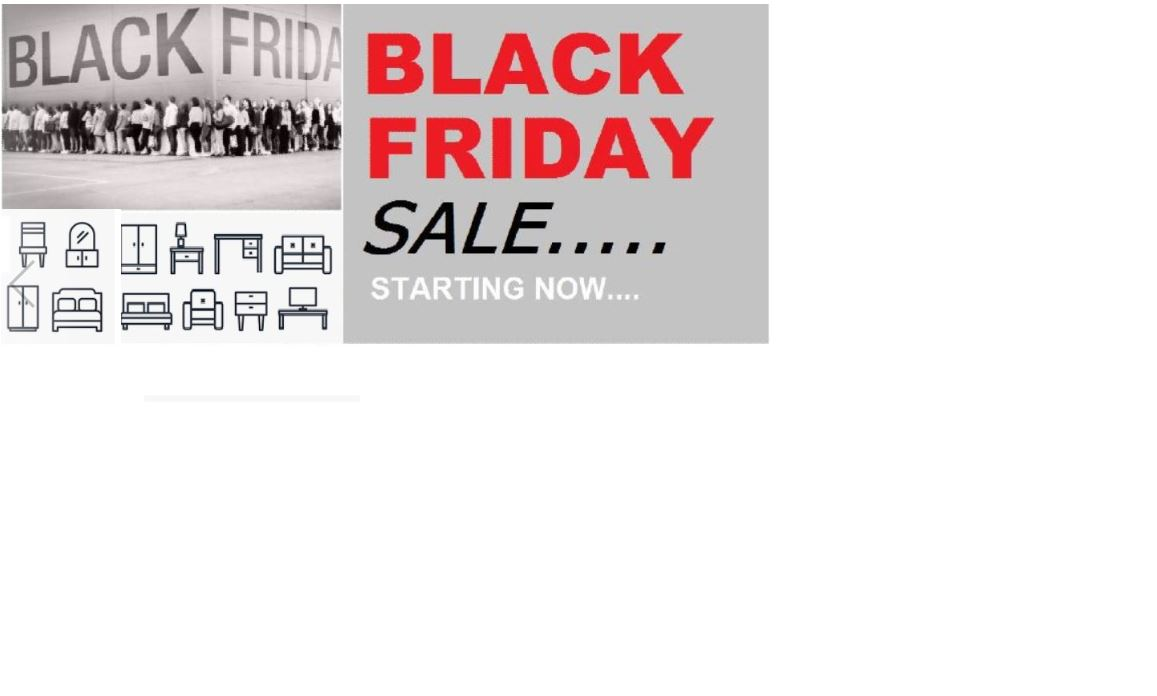 Black Friday comes early at Hyatt Furniture...